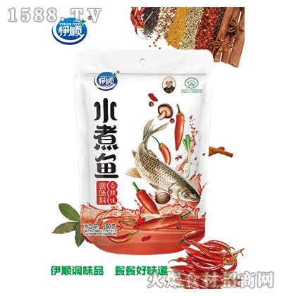 伊顺水煮鱼调味料(香辣)180g