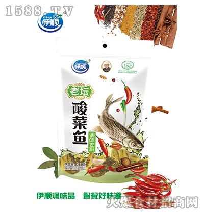 伊顺老坛酸菜鱼调味料300g