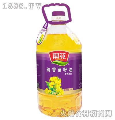 淇花非转基因纯香菜籽油5L