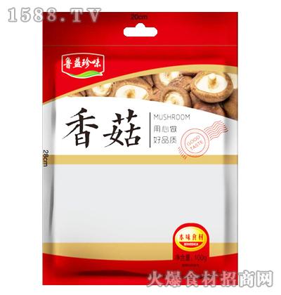 鲁益珍味香菇100g