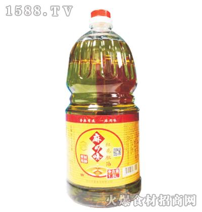 麻到味红花椒油1.8L