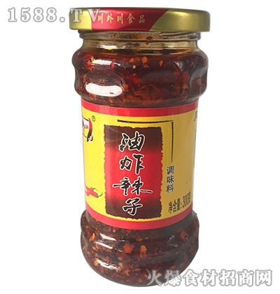 川外川油炸辣子调味料300g