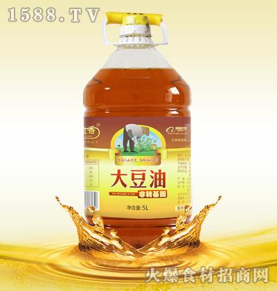 玉金香非转基因大豆油(三级)5L