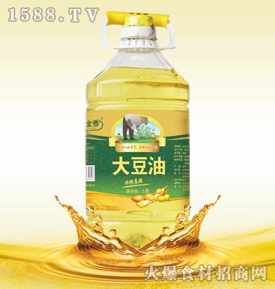 玉金香非转基因大豆油(一级)5L