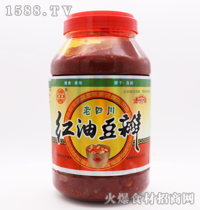 碟中香老四川红油豆瓣4千克