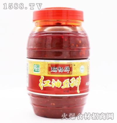 鹃畅牌红油豆瓣1千克