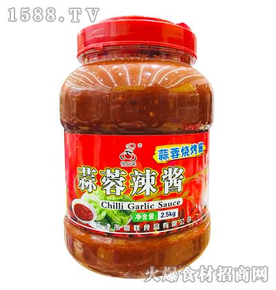 悦厨来蒜蓉辣酱(烧烤酱)2.5kg