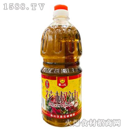 聚川红特麻花椒油1.8L