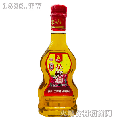 聚川红特麻花椒油400ml