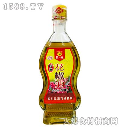 聚川红特麻花椒油380ml