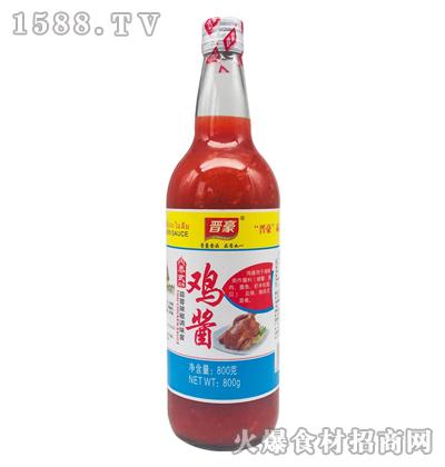 晋豪泰式鸡酱(蒜蓉辣椒调味酱)800克