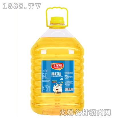 亿家福棉籽油20L