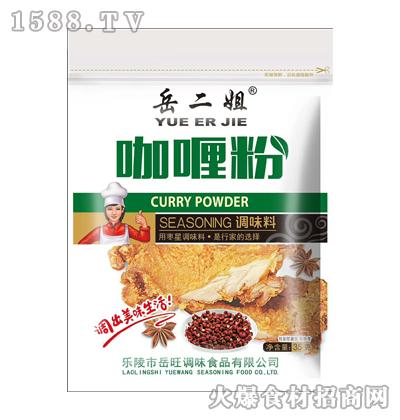 岳二姐咖喱粉调味料35g