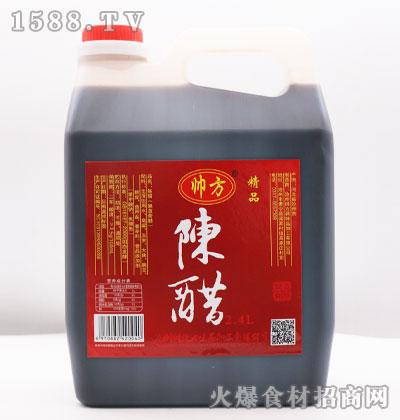 帅方精品陈醋2.4L