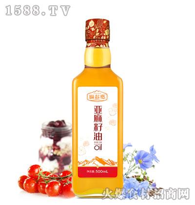 福益德亚麻籽油500ml