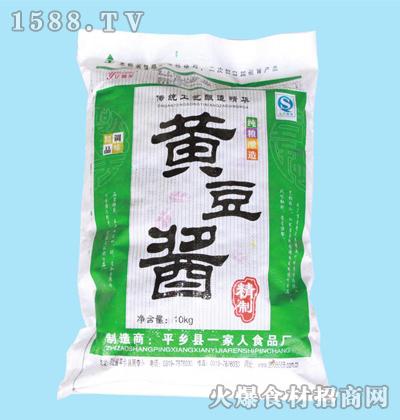 亿调龙黄豆酱10kg