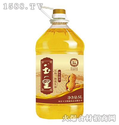 玉皇压榨一级花生油5L