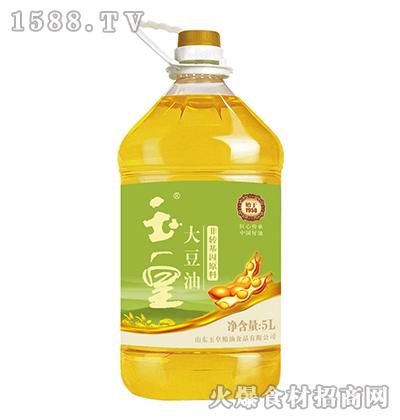 玉皇非转基因大豆油5L