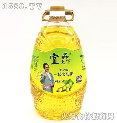 宜品天下一级大豆油5L