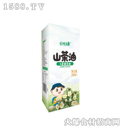 秋味坊山茶油-280ml