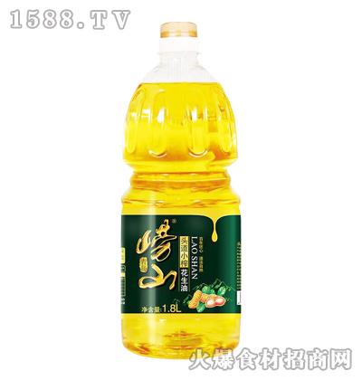 崂山头道小榨花生油1.8L