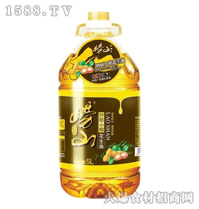崂山炒胚小榨花生油-5L