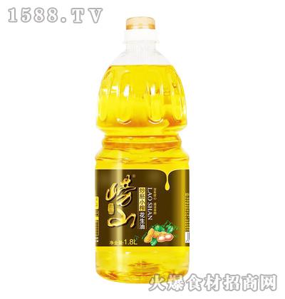 崂山炒胚小榨花生油-1.8L