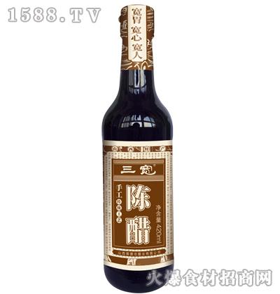 三宽手工陈醋420ml