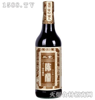 三宽手工陈醋-500ml