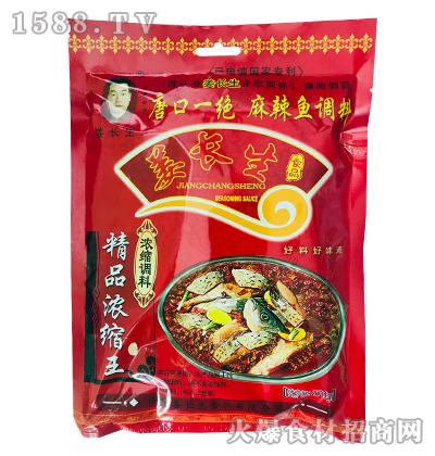 姜长生精品浓缩王麻辣鱼调料270g
