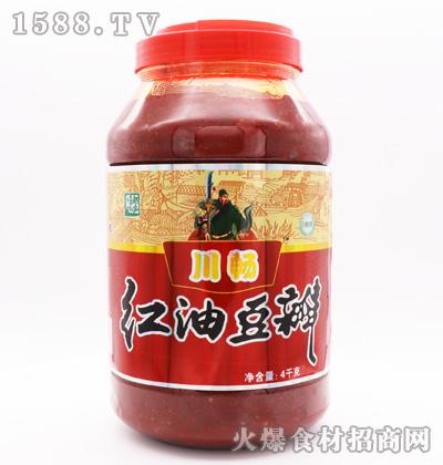 川畅红油豆瓣-4千克