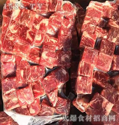 麟州食品雪花牛肉粒