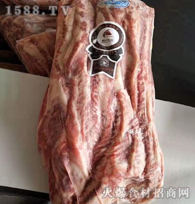 麟州食品黑牛腹肉条