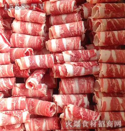 麟州食品谷饲单层肥牛卷