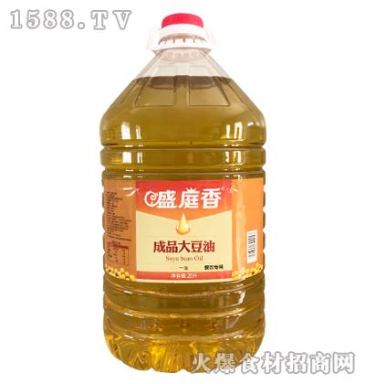 盛庭香成品大豆油20升