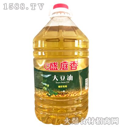 盛庭香一级大豆油15升