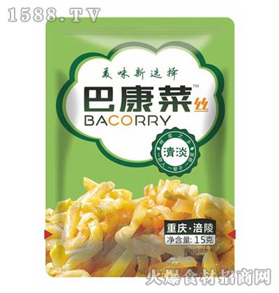 巴康清淡菜丝15g