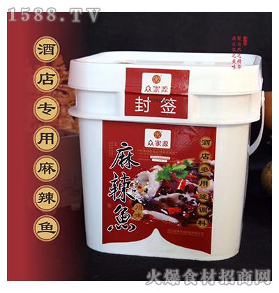 众家源麻辣鱼调料3.6kg