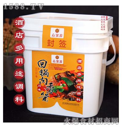 众家源回锅肉香酱调料3.6kg