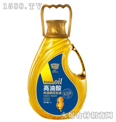 淇花高油酸优选级花生油3L