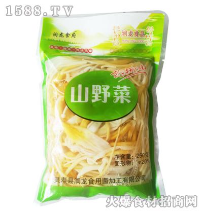 润龙山野菜250克