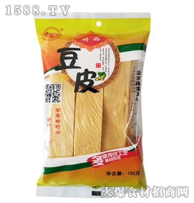 绿翠精品豆皮150克