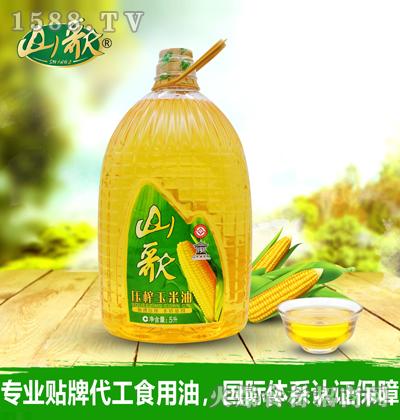 山歌压榨玉米油5升(代工)