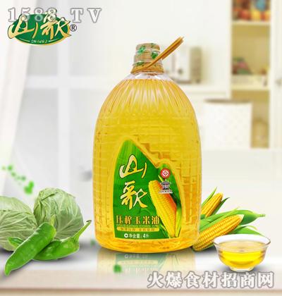山歌压榨玉米油4升
