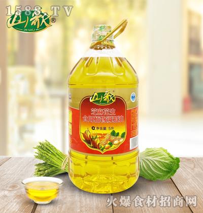 山歌芝麻花生食用植物调和油5升