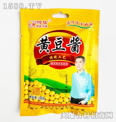 何信黄豆酱100克