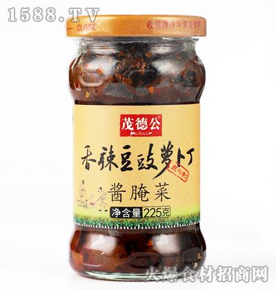 茂德公香辣豆豉萝卜丁(酱腌菜)225克
