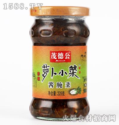 茂德公香辣萝卜小菜(酱腌菜)225克
