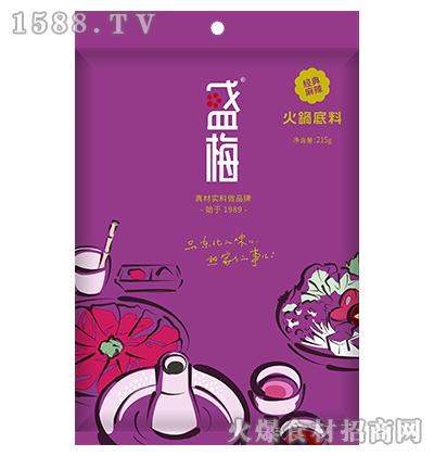 盛梅经典麻辣火锅底料215g