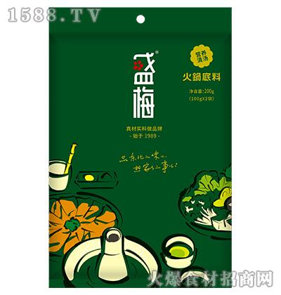 盛梅营养清汤火锅底料200g